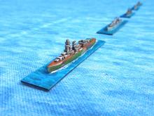 Allied Cruisers Java Sea